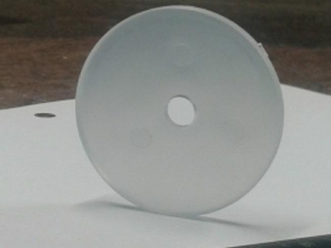 Gjennomsiktig plast caps til å dekke skruehodene