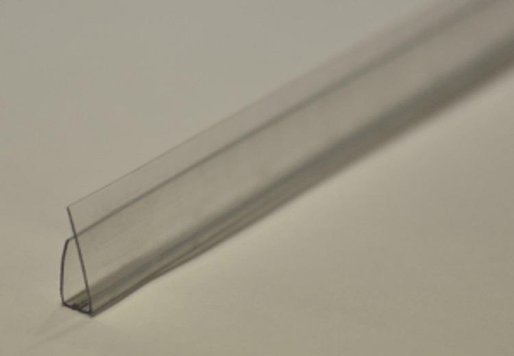 U profil til 8 - 10mm polykarbonat