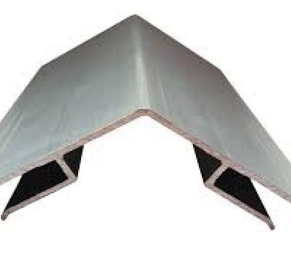 Aluminium Møne Til 6mm Polykarbonat