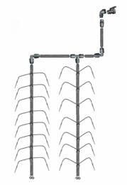 Vanningssystem Klassisk Edderkopp 2