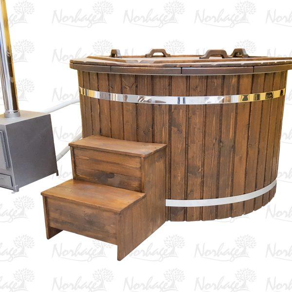 Utvendig badestampens ovn 20kw