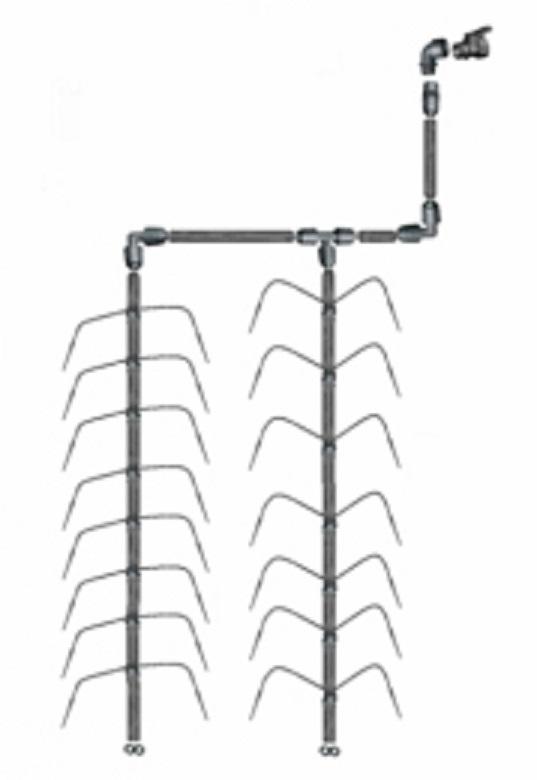 Vanningssystem Klassisk Edderkopp 2 3