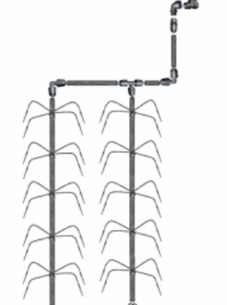 Vanningssystem Klassisk Edderkopp 4 (Uten Trykkompensasjon)