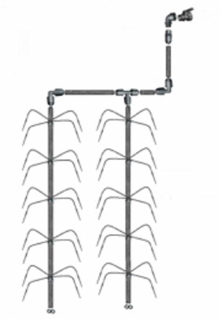 Vanningssystem Klassisk Edderkopp 4