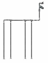 Vanningssystem Klassisk Dråpe (uten trykkompensasjon)