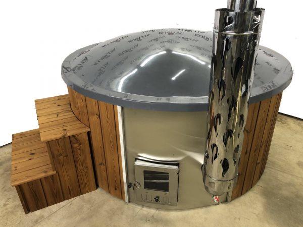 badestamp med integrert ovn