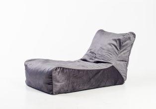lounge velor sittesekk