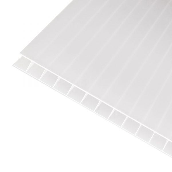 KANAL POLYKARBONAT 10mm Hvit